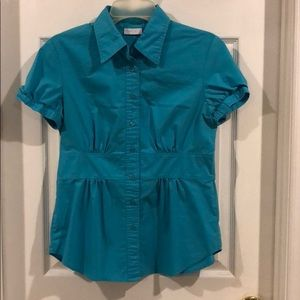 NY & Co Turquoise Blouse